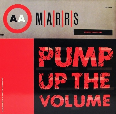 "Pump Up The Volume - M|A|R|R|S (Singiel, Winyl, 12"", 45 RPM, ℗ © 1987) - przód główny"