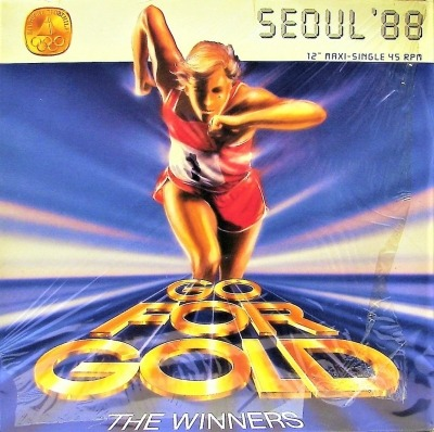 "Go For Gold - The Winners (Winyl, 12"", Maxi-Singiel, ℗ © 1988) - przód główny"