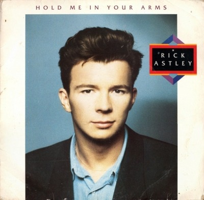 Hold Me In Your Arms - Rick Astley (Winyl, LP, Album, ℗ © Lis 1988) - przód główny