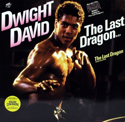 "The Last Dragon (Title Song From ""Berry Gordy's The Last Dragon"") - Dwight David (Winyl, 12"", Maxi-Singiel, 45 RPM, ℗ © 1985) - przód główny"