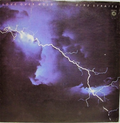 Love Over Gold - Dire Straits (Winyl, LP, Album, ℗ 1982 © 1988) - przód główny