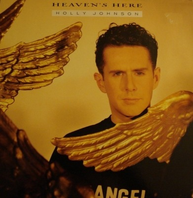 "Heaven's Here - Holly Johnson (Singiel, Winyl, 12"", 45 RPM, ℗ © 1989) - przód główny"