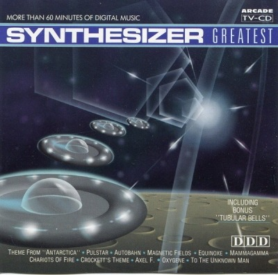 Synthesizer Greatest - Ed Starink (CD, Album, ℗ © 1989) - przód główny