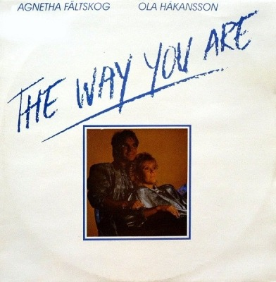 "The Way You Are - Agnetha Fältskog & Ola Håkansson (Winyl, 12"", 45 RPM, Maxi-Singiel, ℗ © 1986) - przód główny"