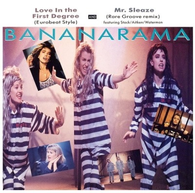 "Love In The First Degree - Bananarama (Winyl, 12"", Maxi-Singiel, 45 RPM, ℗ © 1987) - przód główny"