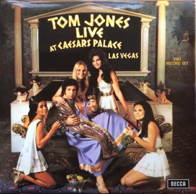 Live At Caesar's Palace - Tom Jones (2 x Winyl, LP, Album, Stereo,  Gatefold , ℗ © 1971) - przód główny