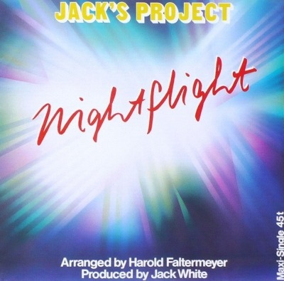 "Nightflight - Jack's Project (Winyl, 12"", Maxi-Singiel, 45 RPM, ℗ © 1985) - przód główny"