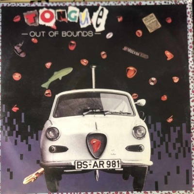 "Out Of Bounds - Tongue (Singiel, Winyl, 12"", 33 ⅓ RPM, ℗ © 1989) - przód główny"