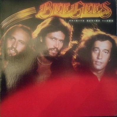 Spirits Having Flown - Bee Gees (Winyl, LP, Album,  Gatefold , ℗ © 1979) - przód główny