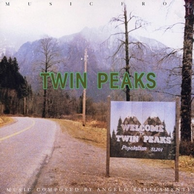 Music From Twin Peaks - Angelo Badalamenti (Winyl, LP, Album, Stereo, ℗ © 1990) - przód główny