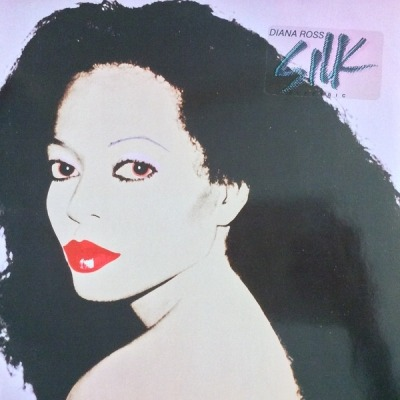 Silk Electric - Diana Ross (Winyl, LP, Album,  Gatefold , ℗ © 1982) - przód główny