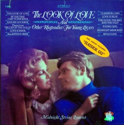 The Look Of Love And Other Rhapsodies For Young Lovers - Midnight String Quartet
