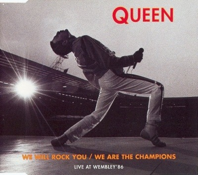 We Will Rock You / We Are The Champions (Live At Wembley '86) - Queen