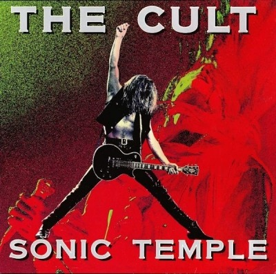 Sonic Temple - The Cult (Winyl, LP, Album, ℗ © 1989) - przód główny