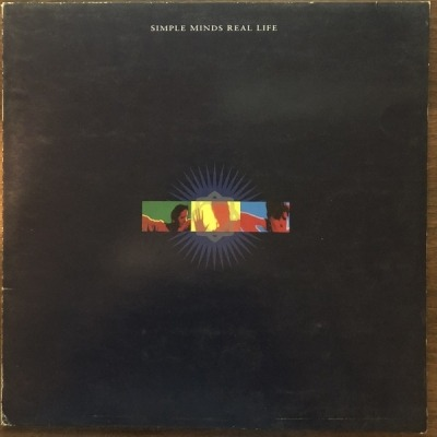 Real Life - Simple Minds (Winyl, LP, Album, ℗ © 1991) - przód główny