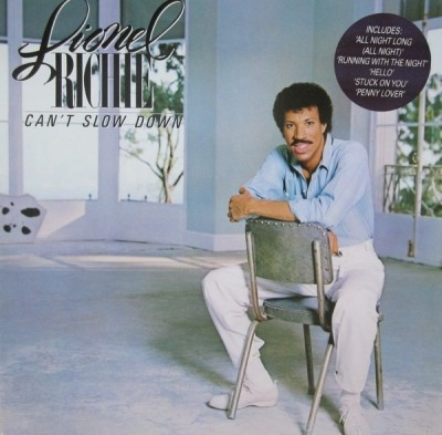 Can't Slow Down - Lionel Richie (Winyl, LP, Album,  Gatefold , ℗ © 1983) - przód główny