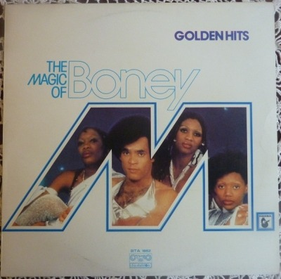 The Magic Of Boney M. - Boney M. (Winyl, LP, Kompilacja, ℗ © 1980) - przód główny