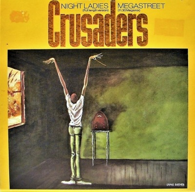 "Night Ladies / Megastreet - The Crusaders (Singiel, Winyl, 12"", 45 RPM, Partially Mixed, ℗ © 1984) - przód główny"