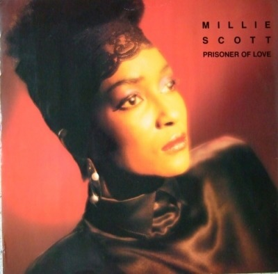 "Prisoner Of Love - Millie Scott (Singiel, Winyl, 12"", 45 RPM,  Alternative Cover , ℗ © 1986) - przód główny"